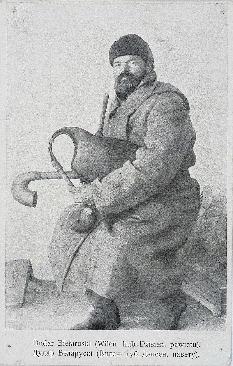 "Паштоўка з подпісам ""Dudar Biełaruski"""